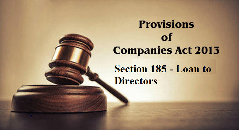 section 185 of companies act 2013